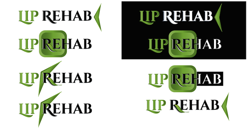 Logo Design by Thanasis Athanasopoulos - Entry No. 308 in the Logo Design Contest Creative Logo Design for Lip Rehab.