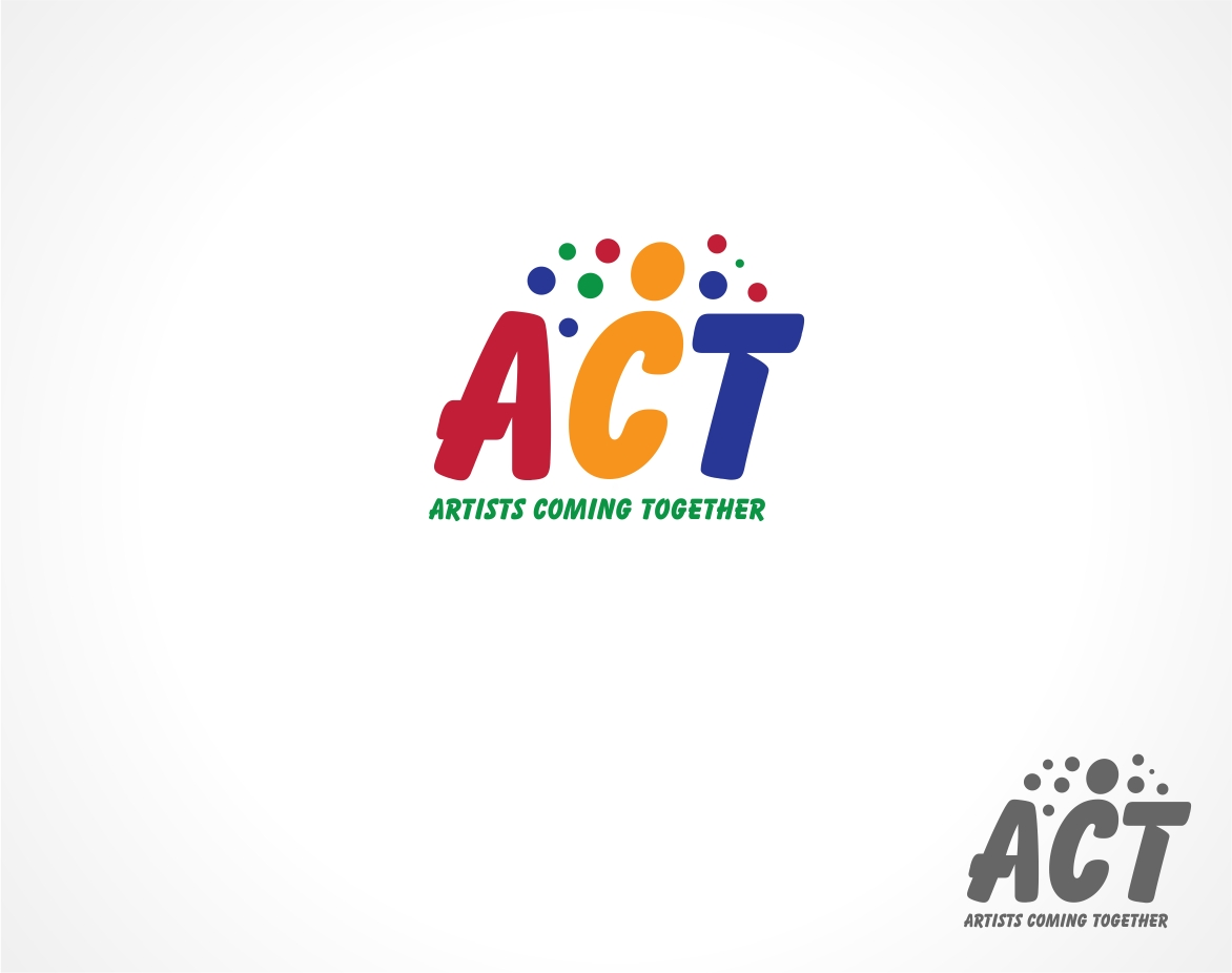 Logo Design by haidu - Entry No. 37 in the Logo Design Contest Creative Logo Design for A.C.T. Artists Coming Together.
