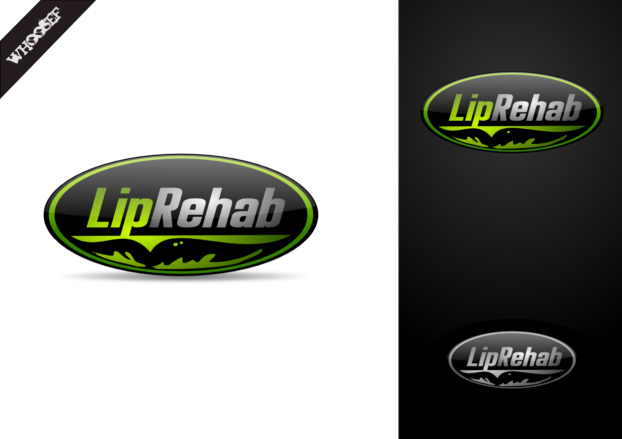 Logo Design by whoosef - Entry No. 310 in the Logo Design Contest Creative Logo Design for Lip Rehab.