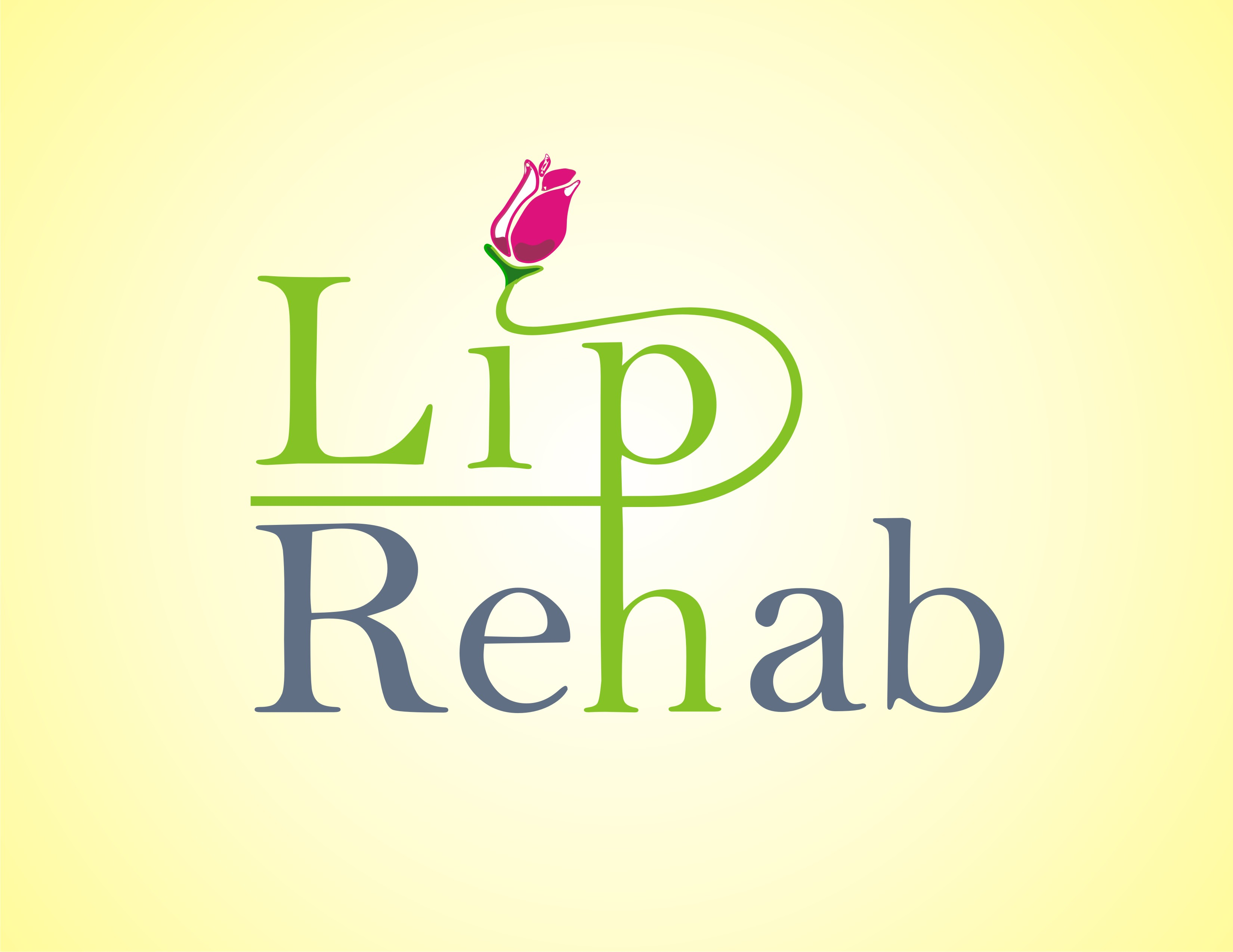 Logo Design by Mahida Kirit Chandrasinh - Entry No. 314 in the Logo Design Contest Creative Logo Design for Lip Rehab.