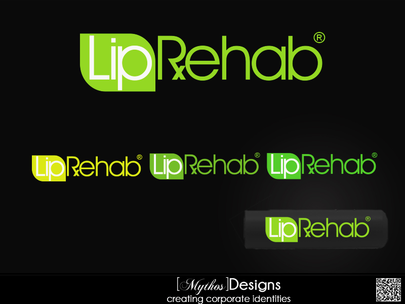 Logo Design by Mythos Designs - Entry No. 316 in the Logo Design Contest Creative Logo Design for Lip Rehab.
