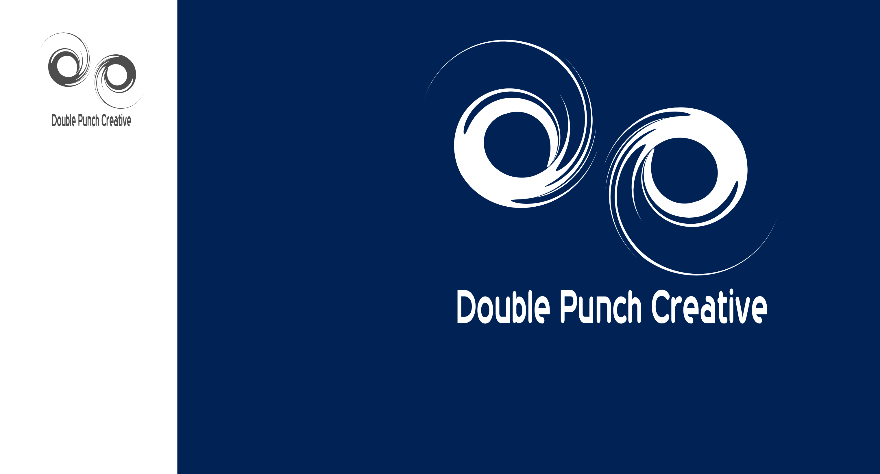 Logo Design by Arindam Khanda - Entry No. 5 in the Logo Design Contest Unique Logo Design Wanted for Double Punch Creative.