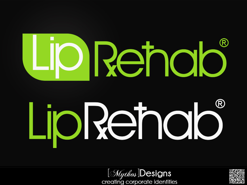 Logo Design by Mythos Designs - Entry No. 323 in the Logo Design Contest Creative Logo Design for Lip Rehab.