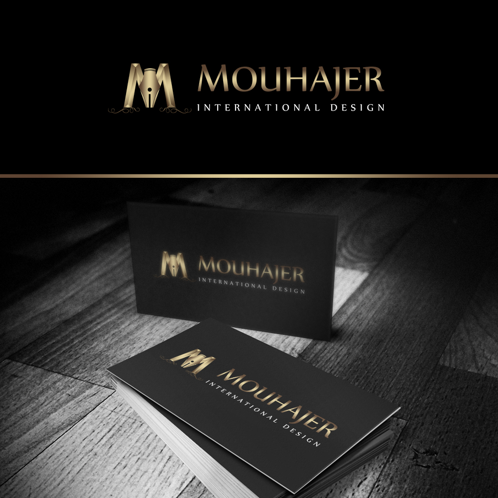 Logo Design by omARTist - Entry No. 92 in the Logo Design Contest Unique Logo Design Wanted for Mouhajer International Design.