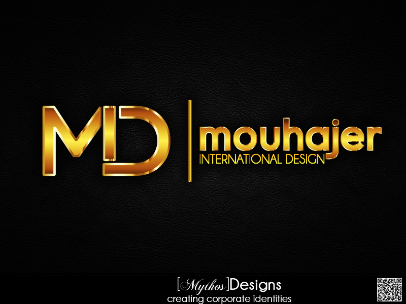 Logo Design by Mythos Designs - Entry No. 93 in the Logo Design Contest Unique Logo Design Wanted for Mouhajer International Design.