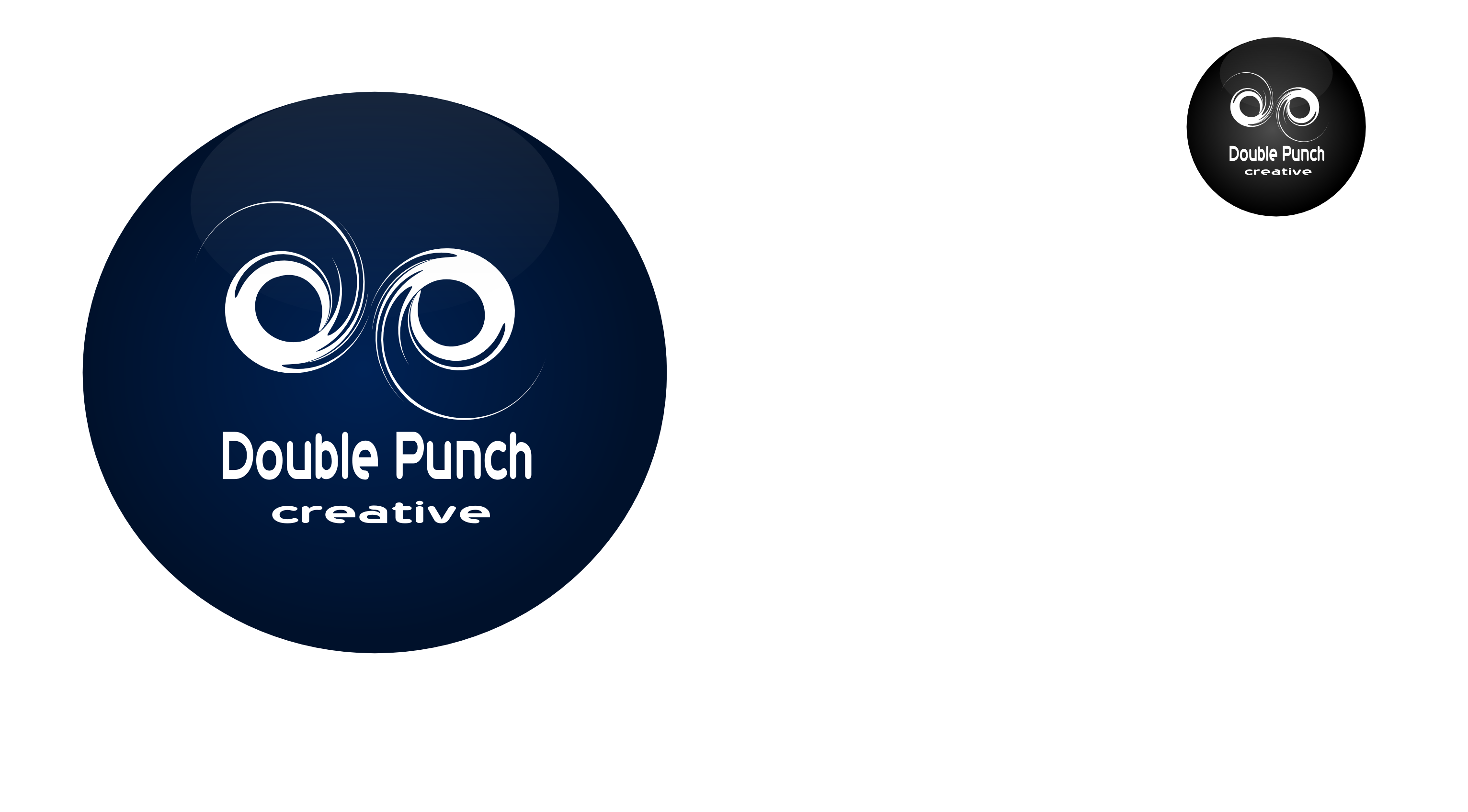 Logo Design by Arindam Khanda - Entry No. 6 in the Logo Design Contest Unique Logo Design Wanted for Double Punch Creative.