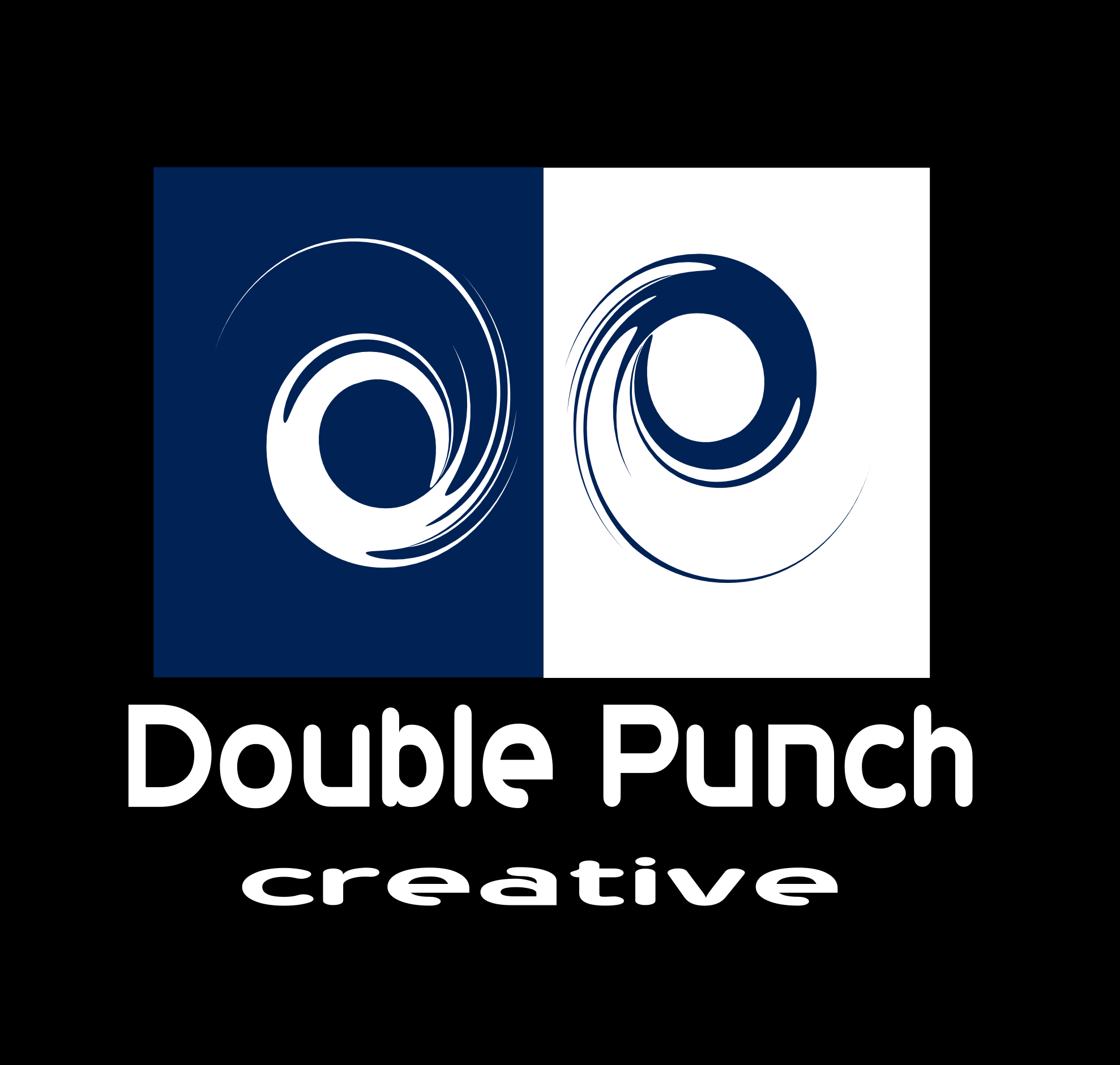 Logo Design by Arindam Khanda - Entry No. 7 in the Logo Design Contest Unique Logo Design Wanted for Double Punch Creative.