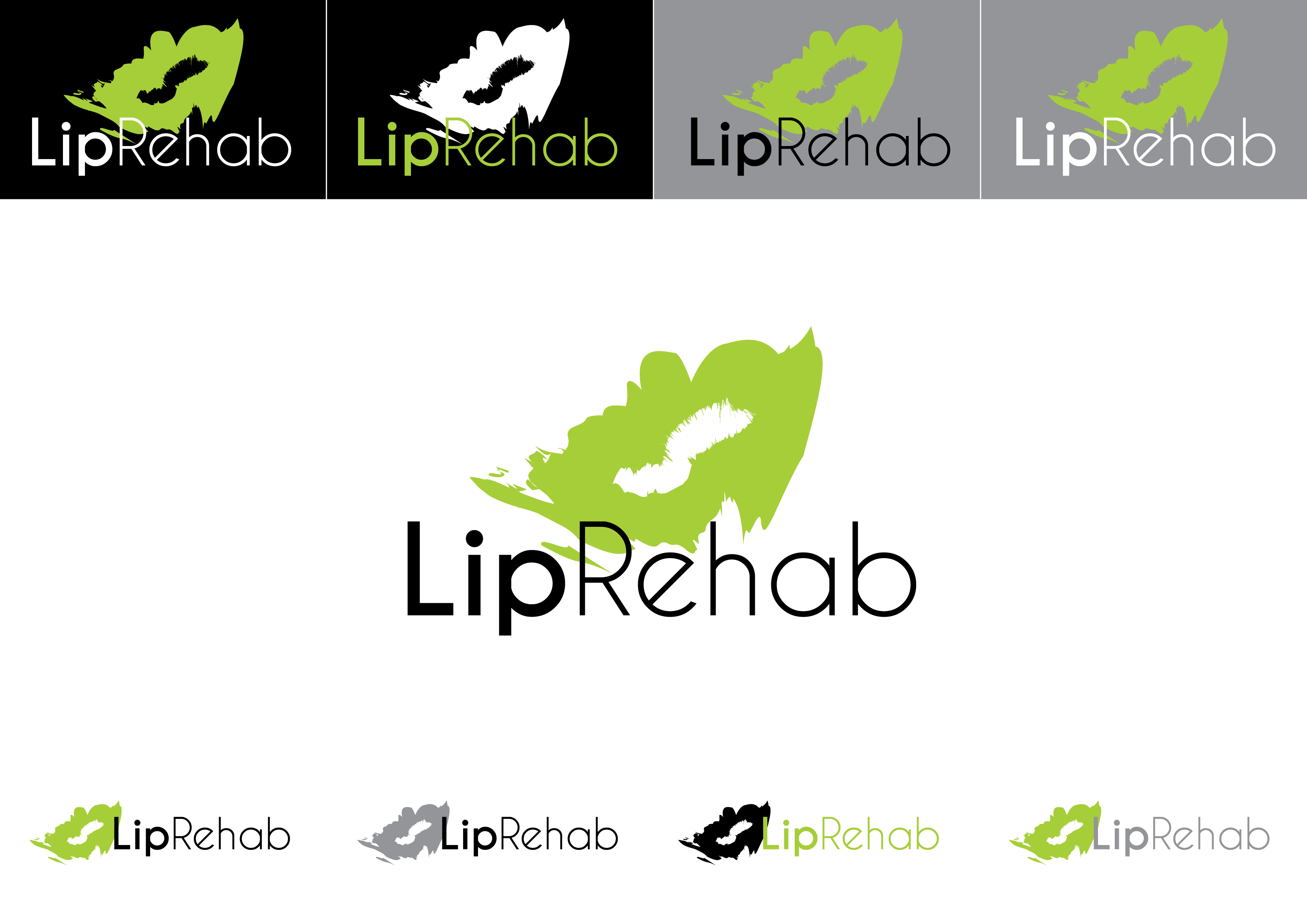 Logo Design by Private User - Entry No. 330 in the Logo Design Contest Creative Logo Design for Lip Rehab.