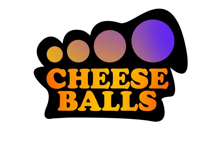 Logo Design by Miroslav Navrátil - Entry No. 58 in the Logo Design Contest Imaginative Logo Design for Cheese Balls.