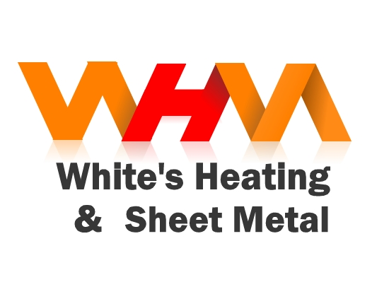 Logo Design by Ismail Adhi Wibowo - Entry No. 98 in the Logo Design Contest Imaginative Logo Design for White's Heating and Sheet Metal.