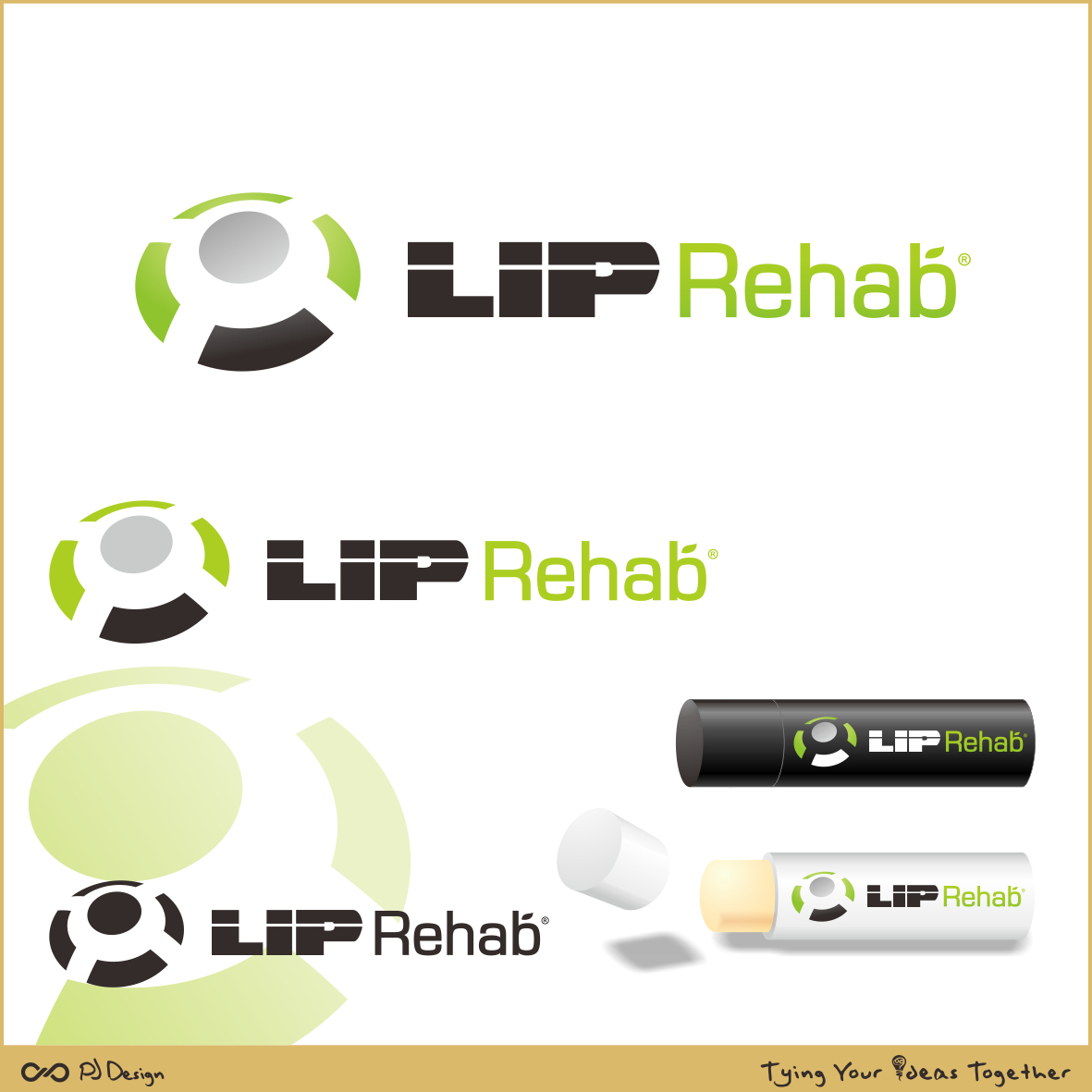 Logo Design by PJD - Entry No. 332 in the Logo Design Contest Creative Logo Design for Lip Rehab.
