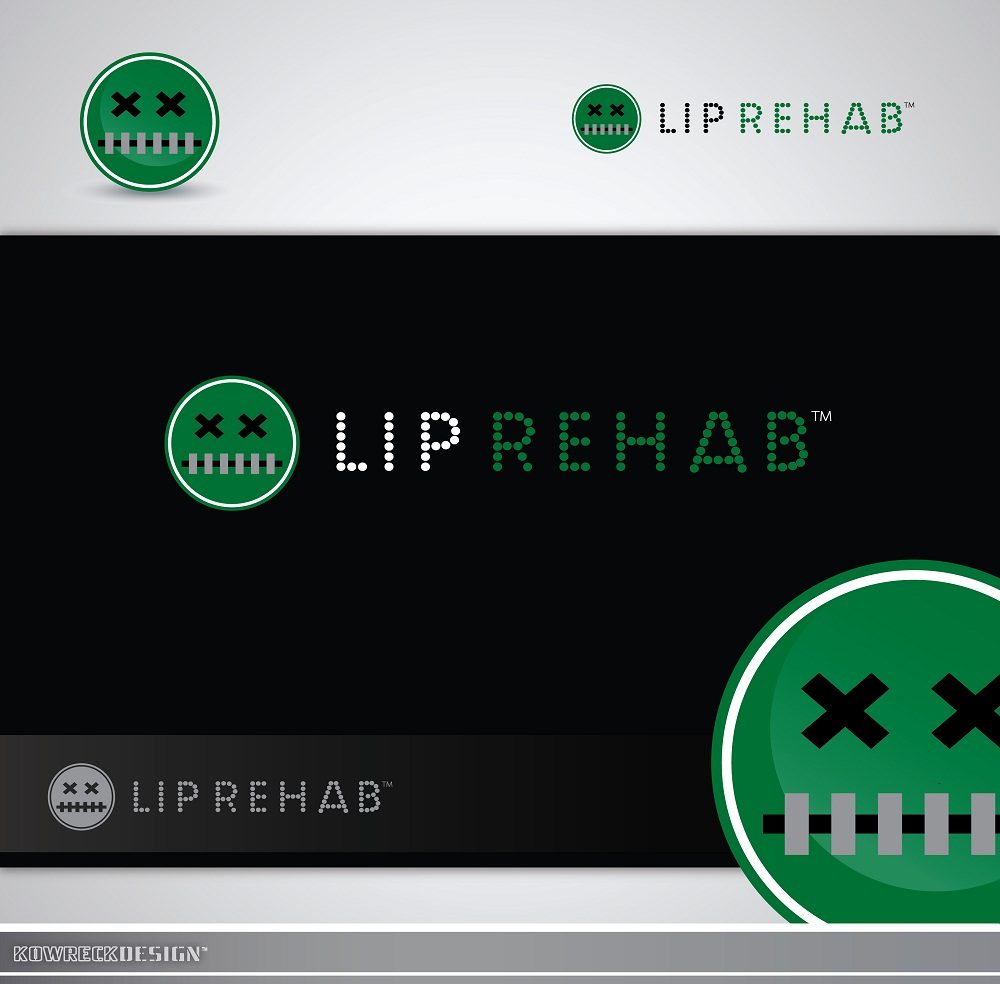 Logo Design by kowreck - Entry No. 334 in the Logo Design Contest Creative Logo Design for Lip Rehab.