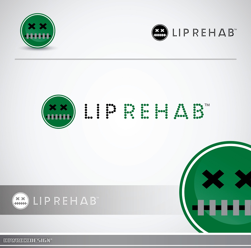 Logo Design by kowreck - Entry No. 335 in the Logo Design Contest Creative Logo Design for Lip Rehab.