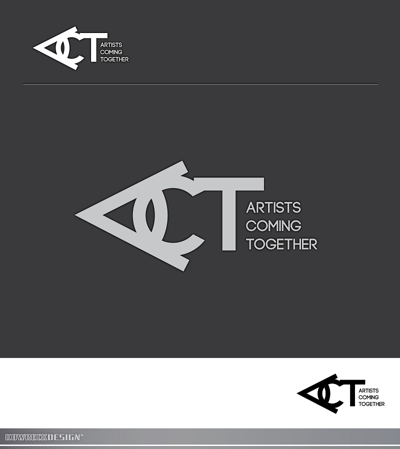 Logo Design by kowreck - Entry No. 42 in the Logo Design Contest Creative Logo Design for A.C.T. Artists Coming Together.