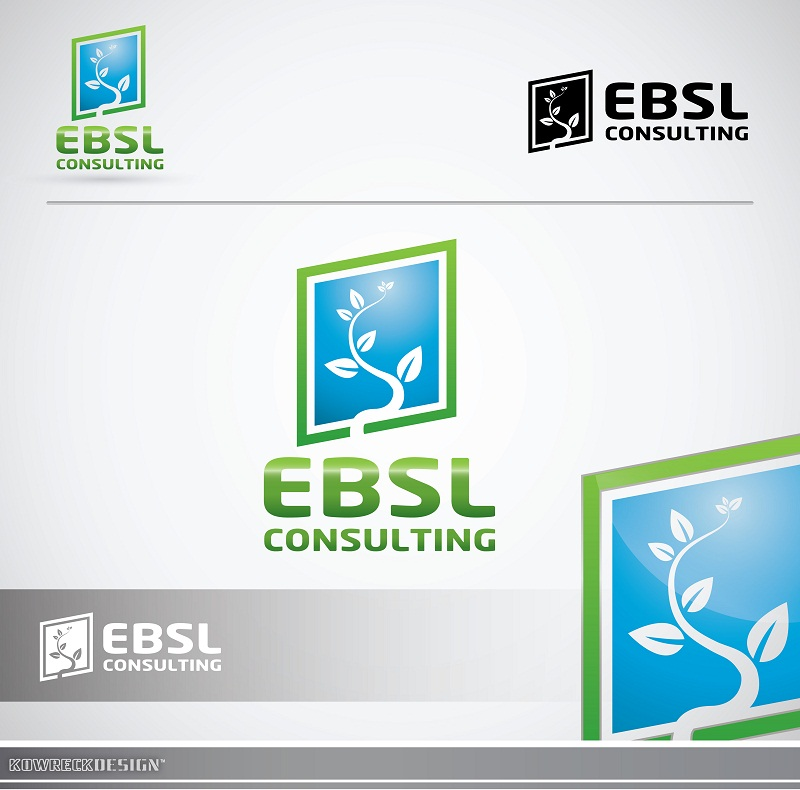 Logo Design by kowreck - Entry No. 71 in the Logo Design Contest EBSL Consulting Logo Design.