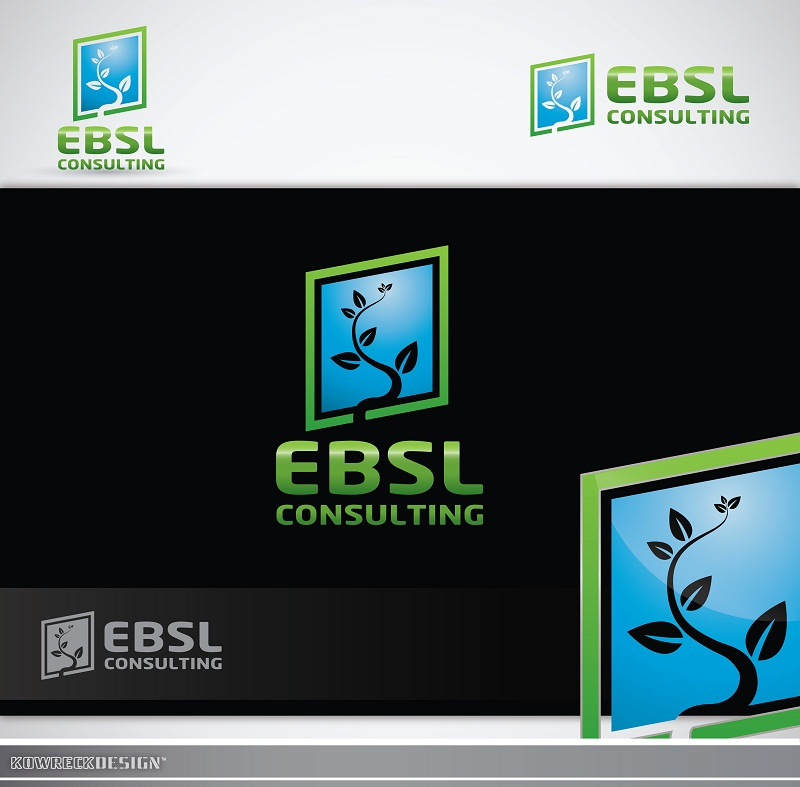 Logo Design by kowreck - Entry No. 72 in the Logo Design Contest EBSL Consulting Logo Design.