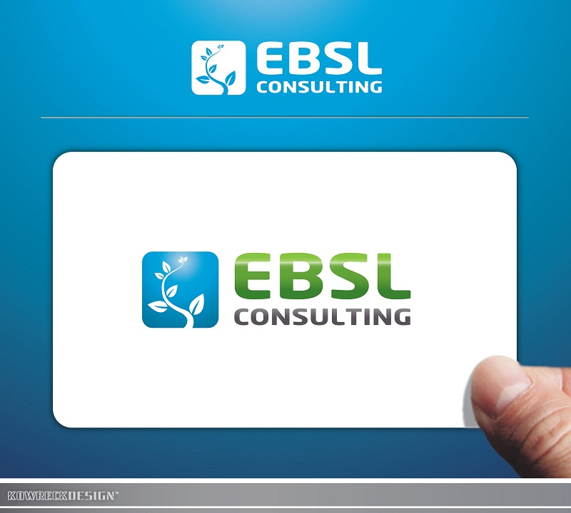Logo Design by kowreck - Entry No. 73 in the Logo Design Contest EBSL Consulting Logo Design.