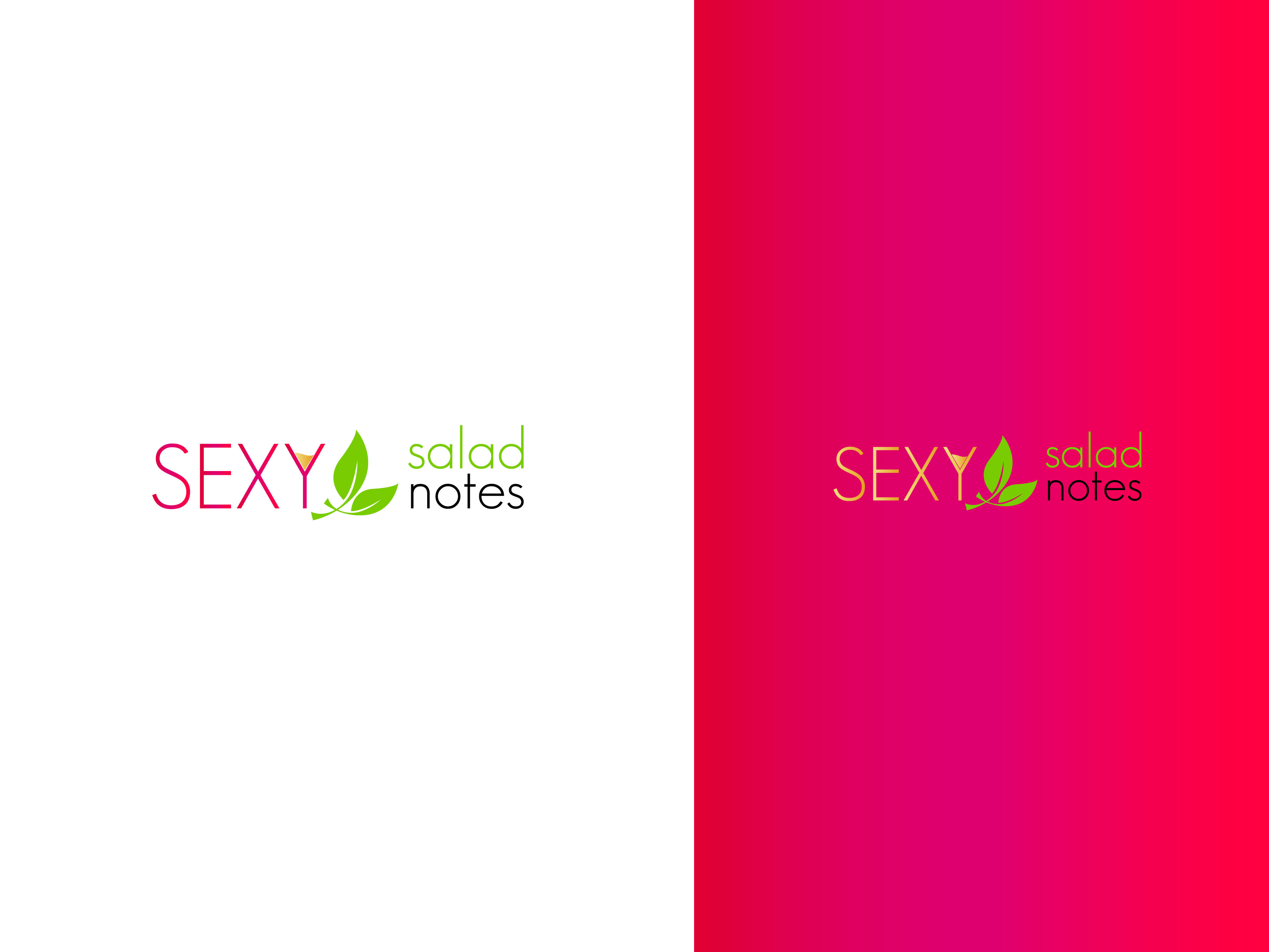 Logo Design by Osi Indra - Entry No. 32 in the Logo Design Contest Artistic Logo Design for Sexy Salad Inc..