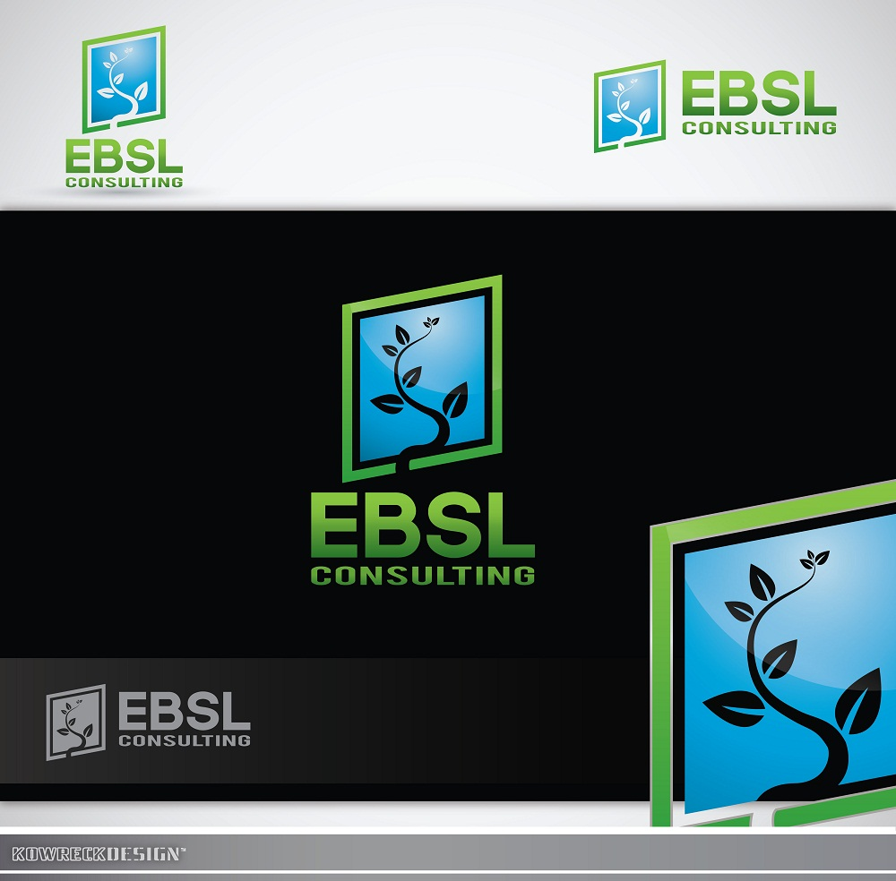Logo Design by kowreck - Entry No. 80 in the Logo Design Contest EBSL Consulting Logo Design.
