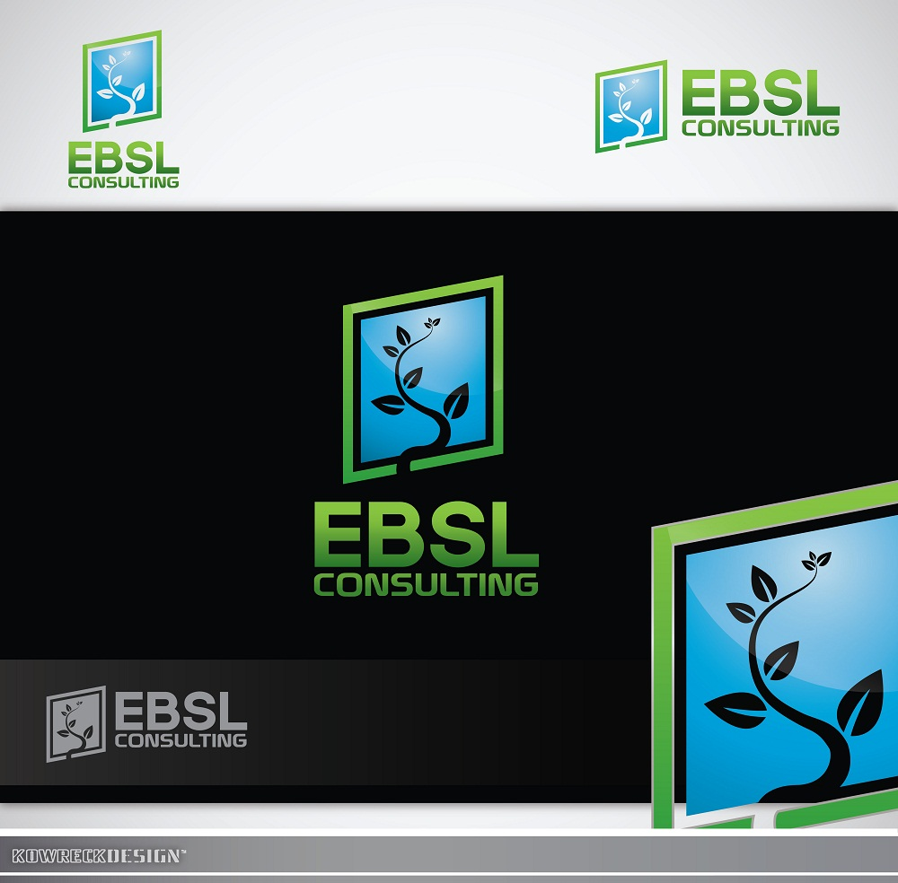 Logo Design by kowreck - Entry No. 81 in the Logo Design Contest EBSL Consulting Logo Design.