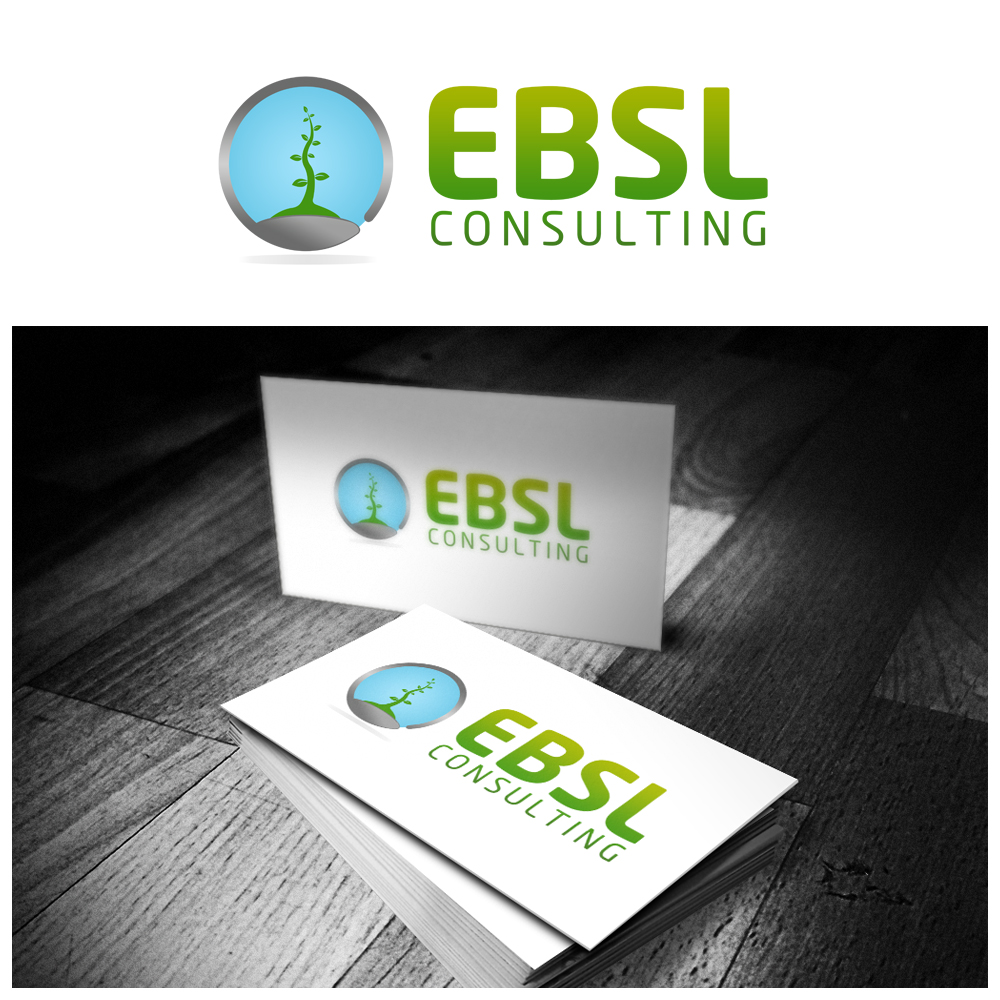 Logo Design by omARTist - Entry No. 82 in the Logo Design Contest EBSL Consulting Logo Design.