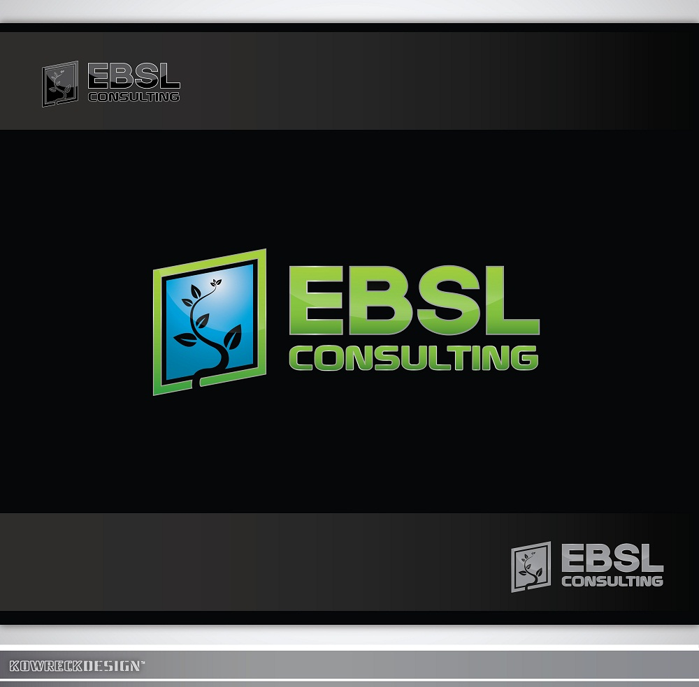 Logo Design by kowreck - Entry No. 83 in the Logo Design Contest EBSL Consulting Logo Design.