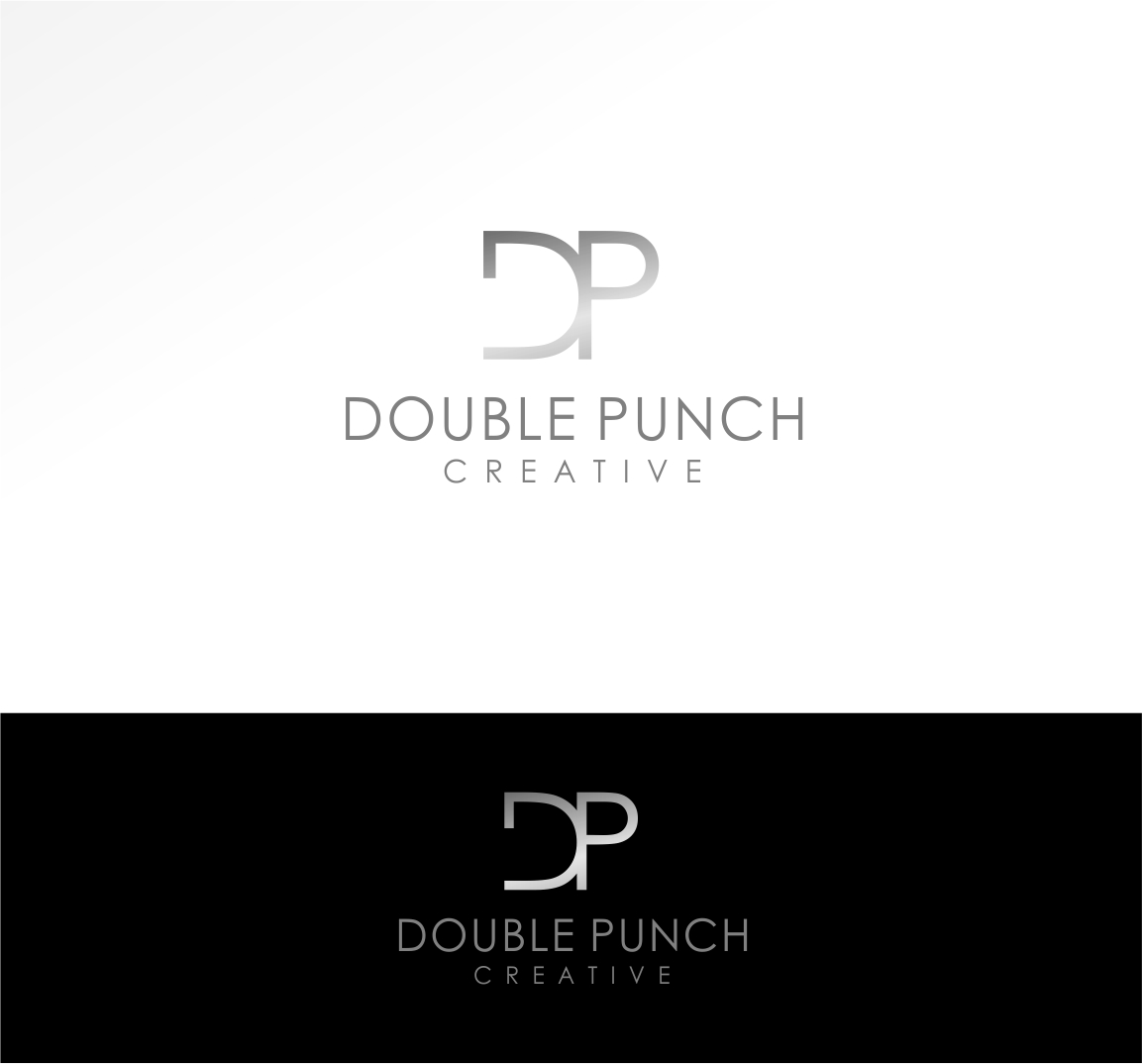Logo Design by haidu - Entry No. 12 in the Logo Design Contest Unique Logo Design Wanted for Double Punch Creative.