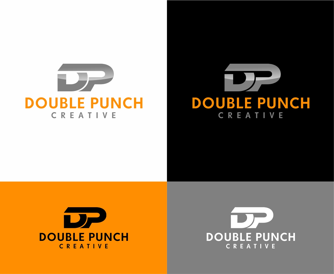 Logo Design by haidu - Entry No. 15 in the Logo Design Contest Unique Logo Design Wanted for Double Punch Creative.