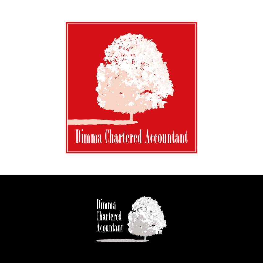 Logo Design by Kalinoe - Entry No. 5 in the Logo Design Contest Creative Logo Design for Dimma Chartered Accountant.