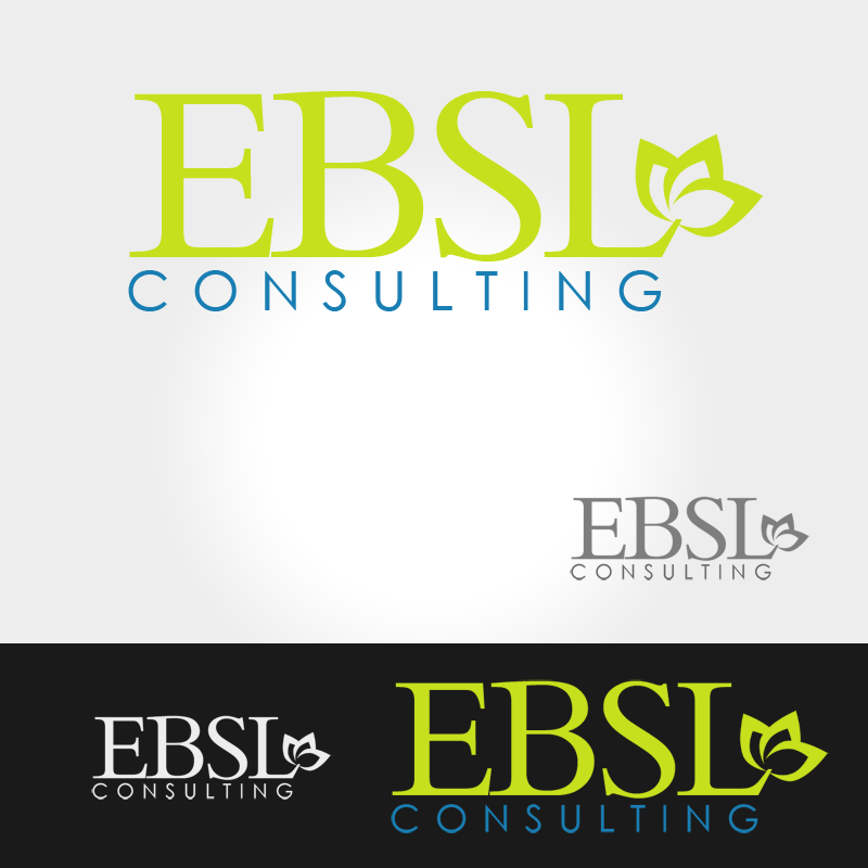 Logo Design by Private User - Entry No. 86 in the Logo Design Contest EBSL Consulting Logo Design.