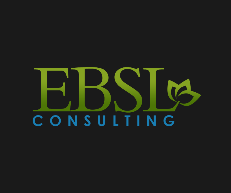 Logo Design by Robert Turla - Entry No. 87 in the Logo Design Contest EBSL Consulting Logo Design.