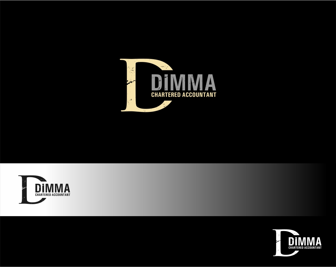 Logo Design by haidu - Entry No. 6 in the Logo Design Contest Creative Logo Design for Dimma Chartered Accountant.