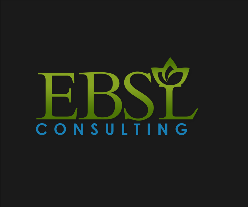 Logo Design by Robert Turla - Entry No. 89 in the Logo Design Contest EBSL Consulting Logo Design.
