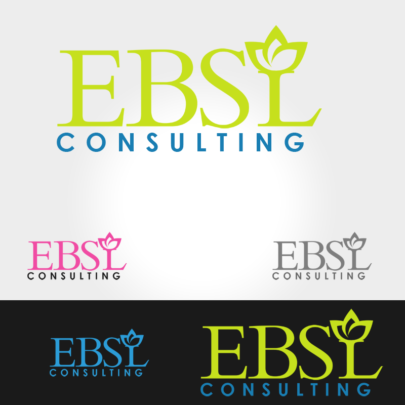 Logo Design by Robert Turla - Entry No. 90 in the Logo Design Contest EBSL Consulting Logo Design.