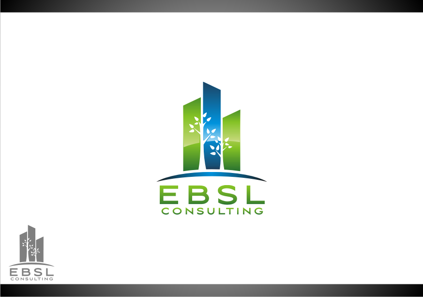 Logo Design by graphicleaf - Entry No. 91 in the Logo Design Contest EBSL Consulting Logo Design.
