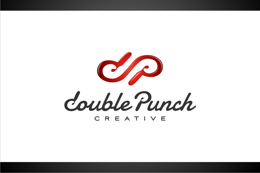 Logo Design by graphicleaf - Entry No. 18 in the Logo Design Contest Unique Logo Design Wanted for Double Punch Creative.