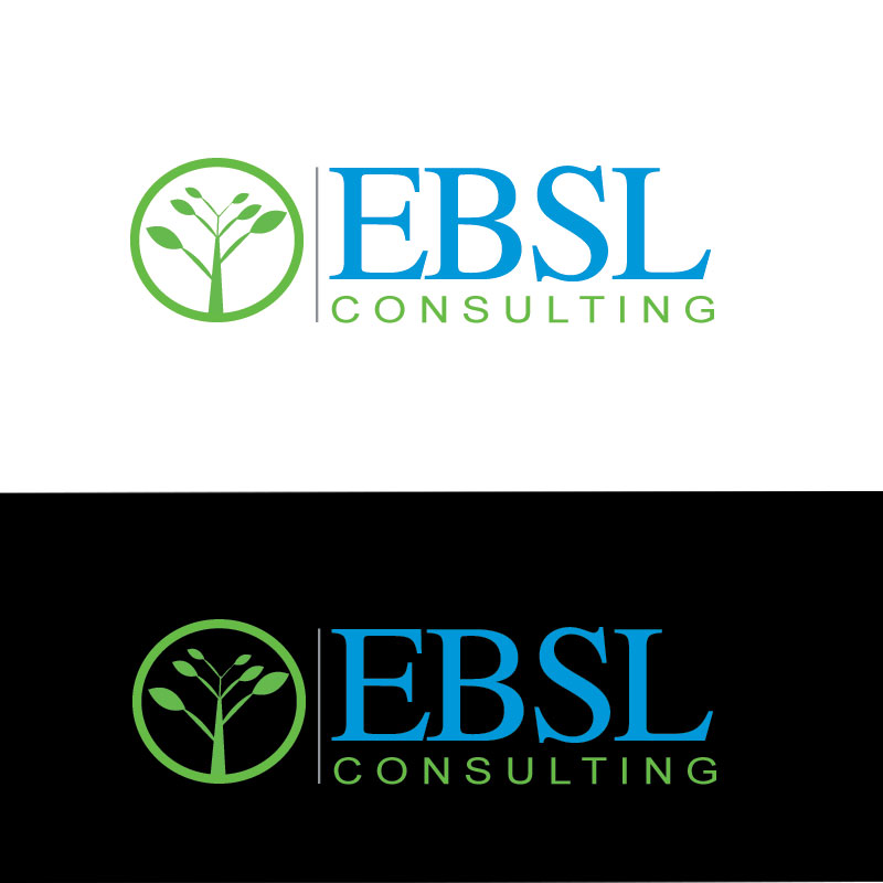 Logo Design by Private User - Entry No. 93 in the Logo Design Contest EBSL Consulting Logo Design.