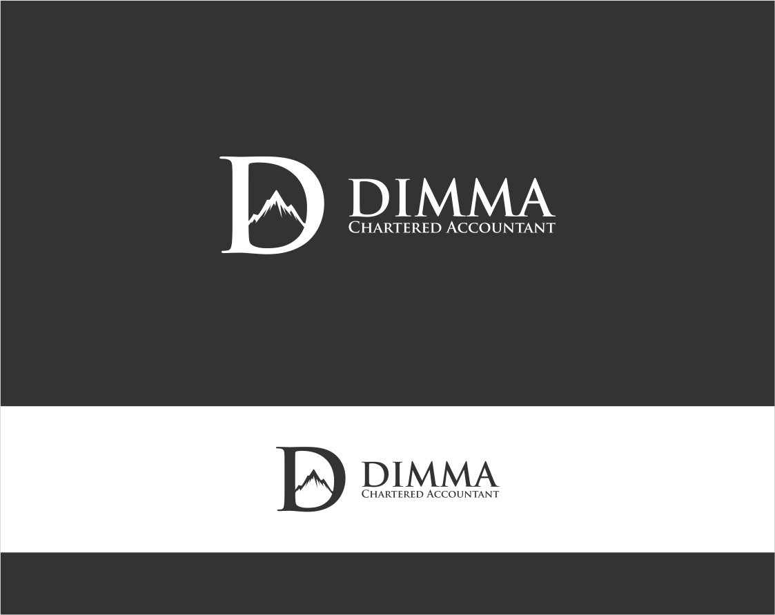 Logo Design by haidu - Entry No. 7 in the Logo Design Contest Creative Logo Design for Dimma Chartered Accountant.