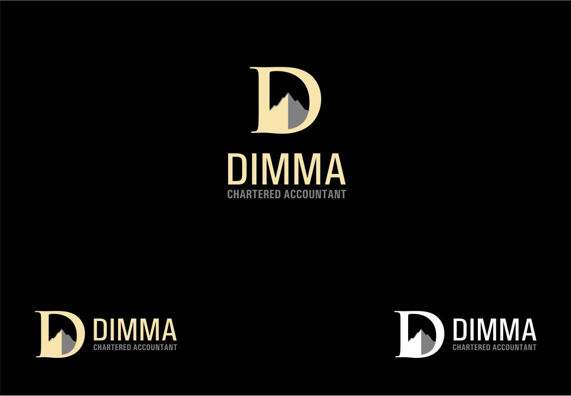Logo Design by haidu - Entry No. 8 in the Logo Design Contest Creative Logo Design for Dimma Chartered Accountant.