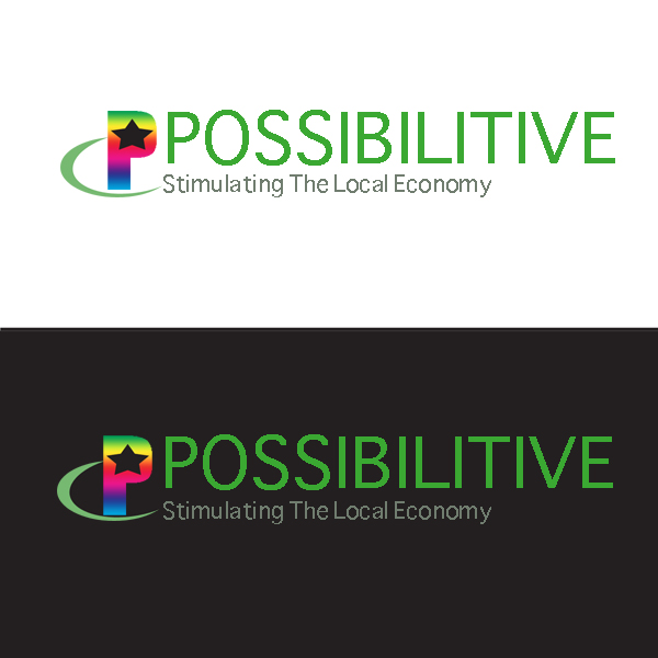 Logo Design by pressman54 - Entry No. 95 in the Logo Design Contest Unemployment Specials / Possibilitive (Possible+Positive).