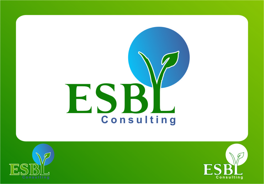 Logo Design by Ngepet_art - Entry No. 99 in the Logo Design Contest EBSL Consulting Logo Design.
