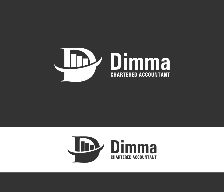 Logo Design by haidu - Entry No. 9 in the Logo Design Contest Creative Logo Design for Dimma Chartered Accountant.