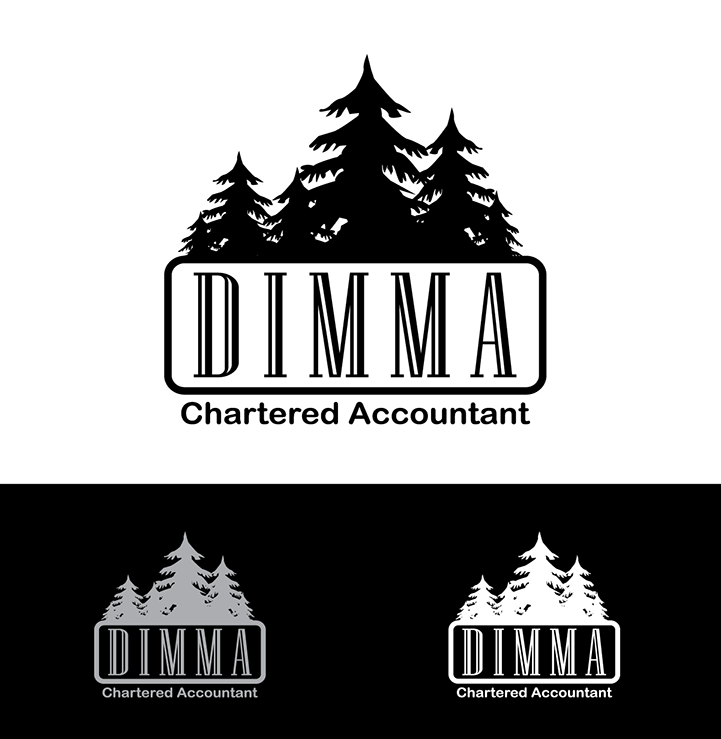 Logo Design by robken0174 - Entry No. 10 in the Logo Design Contest Creative Logo Design for Dimma Chartered Accountant.