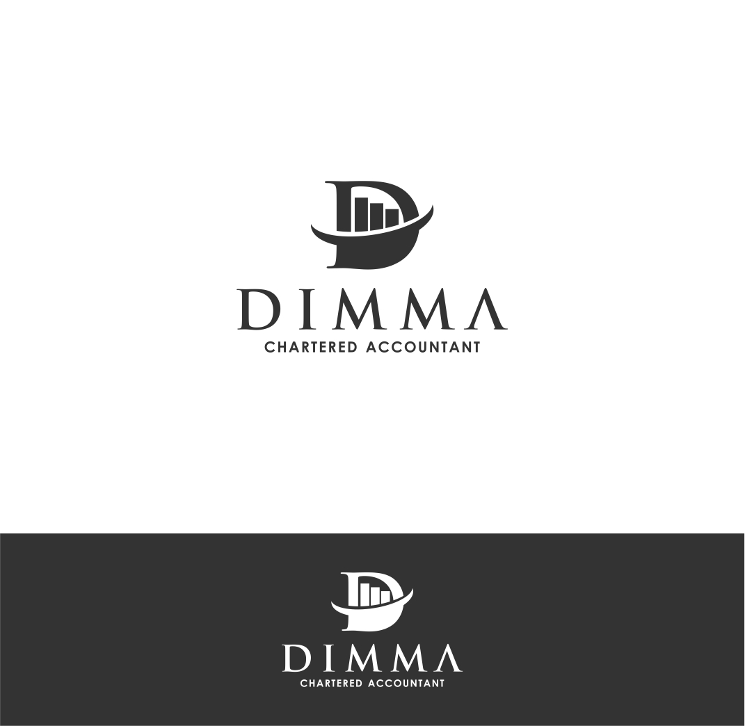 Logo Design by haidu - Entry No. 11 in the Logo Design Contest Creative Logo Design for Dimma Chartered Accountant.