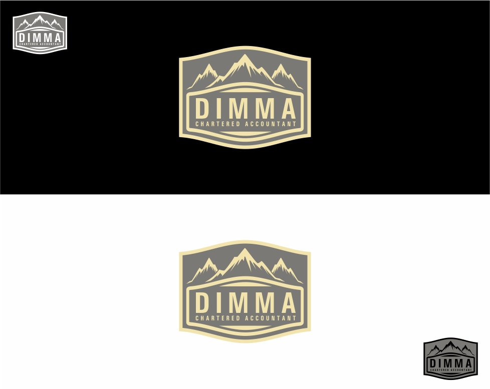 Logo Design by haidu - Entry No. 13 in the Logo Design Contest Creative Logo Design for Dimma Chartered Accountant.