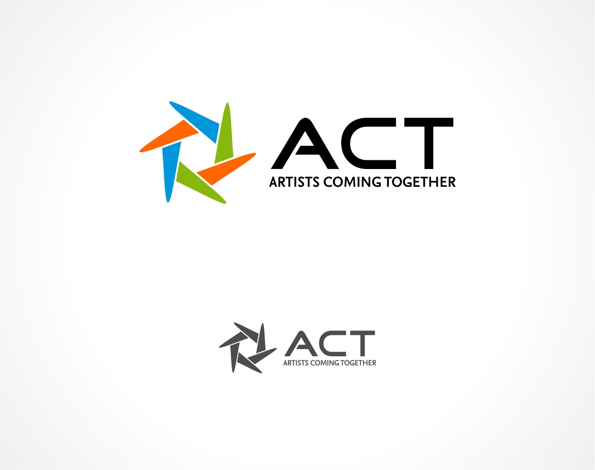 Logo Design by haidu - Entry No. 49 in the Logo Design Contest Creative Logo Design for A.C.T. Artists Coming Together.