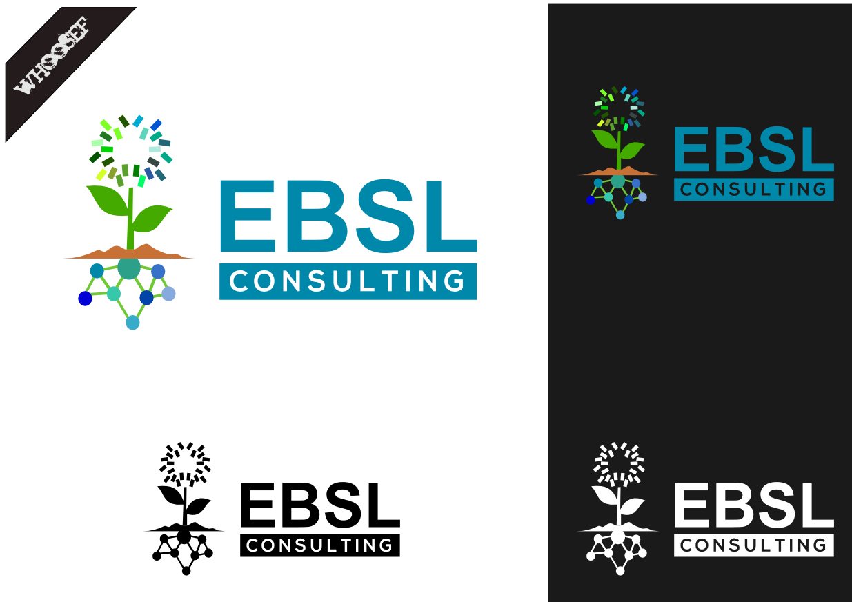 Logo Design by whoosef - Entry No. 110 in the Logo Design Contest EBSL Consulting Logo Design.