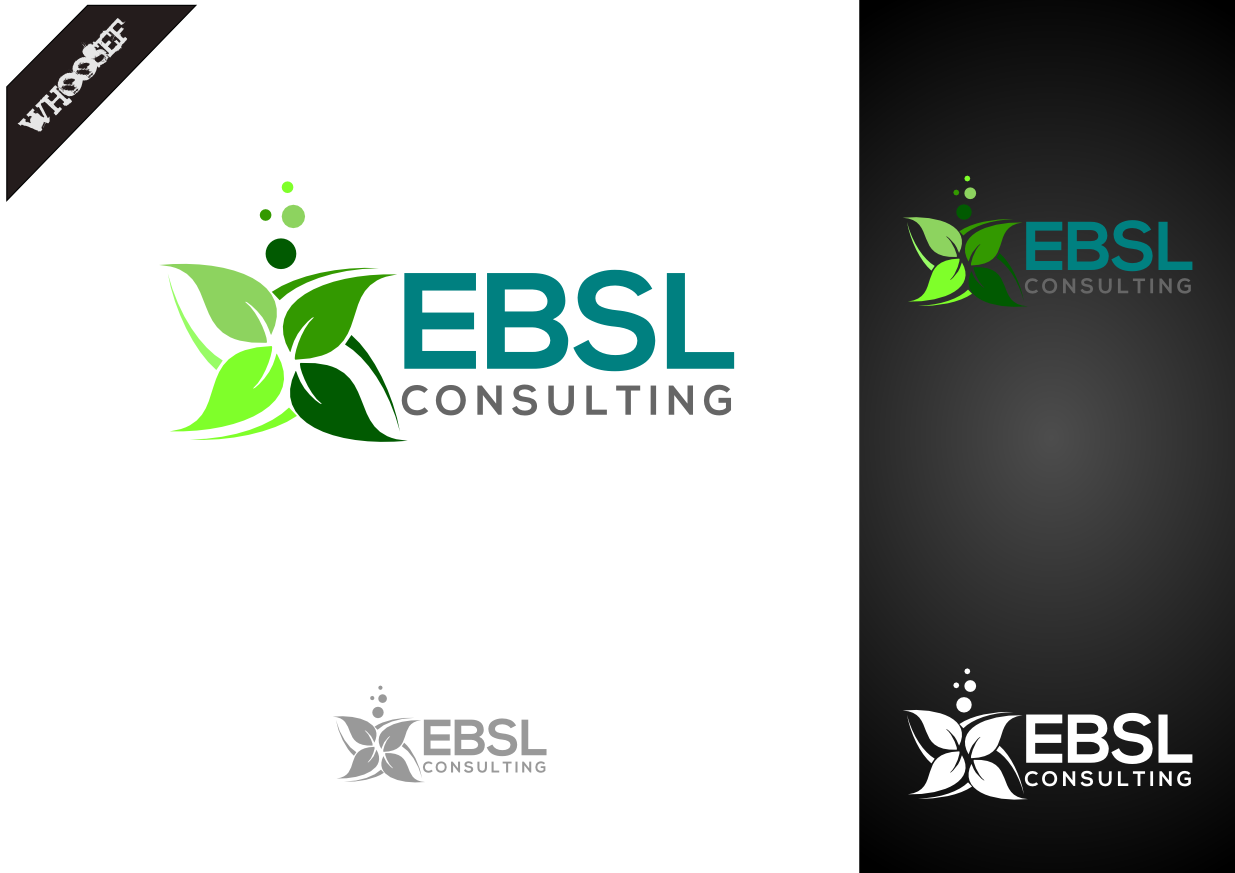 Logo Design by whoosef - Entry No. 114 in the Logo Design Contest EBSL Consulting Logo Design.