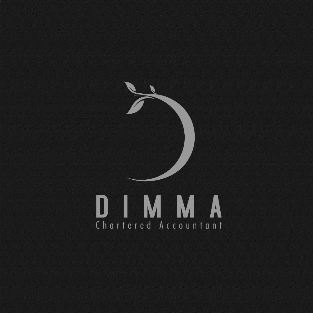 Logo Design by rockin - Entry No. 15 in the Logo Design Contest Creative Logo Design for Dimma Chartered Accountant.