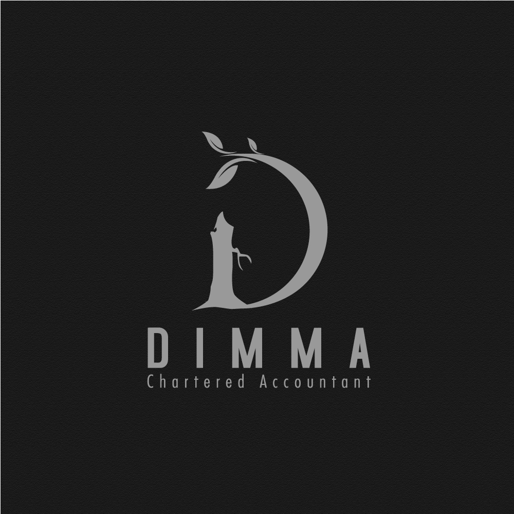 Logo Design by rockin - Entry No. 18 in the Logo Design Contest Creative Logo Design for Dimma Chartered Accountant.